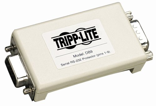 Tripp Lite DB9 Network In-Line Dataline Surge Protector 120V  230V 9-PIN DB9B00006B81J : image