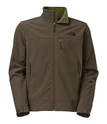 The North Face Men\'s Apex Bionic Jacket Black Ink Green/Black Ink Green Large