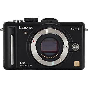 Panasonic Lumix DMC-GF1 12.1MP Micro Four-Thirds Interchangeable Lens Digital Camera Body Only (Lens not included)
