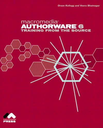 Macromedia Authorware 6: Training from the Source