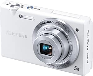 Samsung Multiview MV800 16.1MP Digital Camera with 5x Optical Zoom White