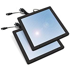 Sunforce 52022 5 Watt Solar Trickle Charger - Pack of 2 from Sunforce
