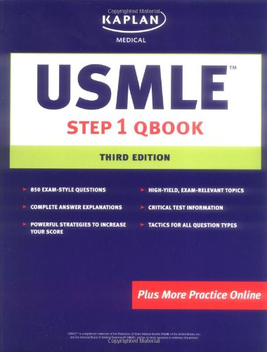 Kaplan Medical USMLE Step 1 Qbook 3rd Edition (Step 3 Qbook compare prices)