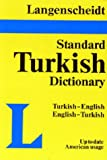 img - for Langenscheidt Standard Dictionary Turkish/English-English/Turkish Plain book / textbook / text book