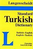 img - for Langenscheidt Standard Dictionary Turkish/English-English/Turkish Plain book / textbook / text book