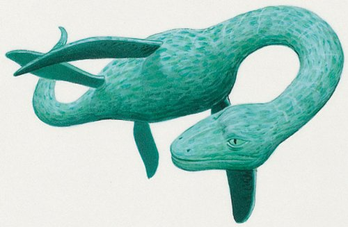 "Mythical Monsters Wall Decals - Loch Ness Monster 36"" Removable Wall Graphic front-918550"