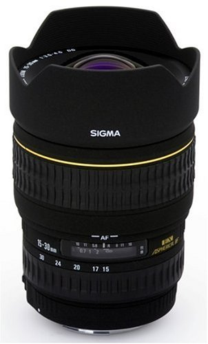 Sigma 15 - 30 mm / F 3,5 - 4,5 EX/DG/ASP./IF Lens