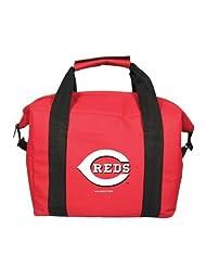 MLB Cincinnati Reds Soft Sided 12-Pack Cooler Bag by Kolder