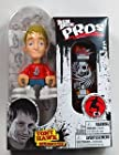 Tech Deck Pro Skater Action Figure with Skateboard Tony Hawk with Red Shirt Almost
