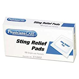 ACM51002 - Sting Relief Wipes