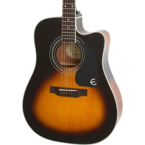 epiphone pro 1 ultra solid top acoustic electric guitar system for beginners gloss vintage. Black Bedroom Furniture Sets. Home Design Ideas