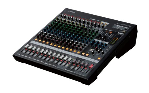 New Yamaha | High-Performance 16-Channel Premium Mixing Console, MGP16X with High-Grade Dual Digital Effects Processors and Digital Connectivity for iPod/iPhone