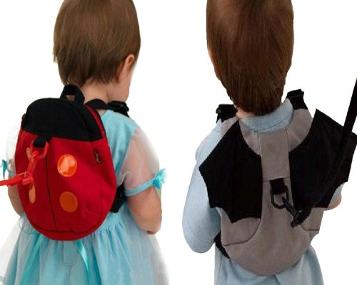 Baby Toddler Safety Harness Reins Backpack Ladybirdbag