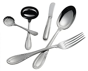 Ricci Impero 5-Piece Stainless-Steel Flatware Hostess Set by Ricci