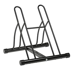 Click to buy Garage Bicycle Storage: Racor PBS-2R Two-Bike Floor Bike Stand from Amazon!