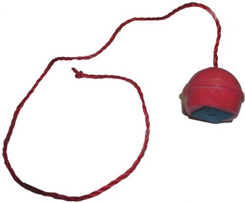 Trademark Red Rubber Chalk Holder with Attachment String