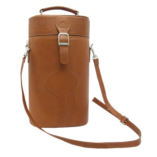 piel-leather-double-deluxe-wine-carrier-one-size-travel-tote-36-cm-saddle