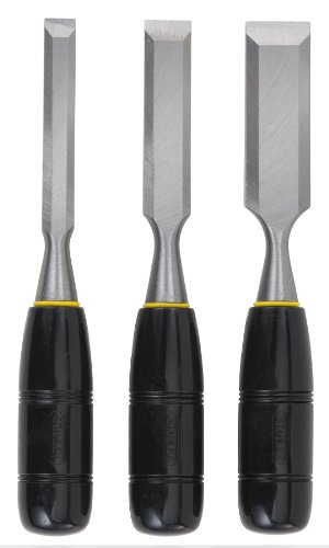 Stanley 16-150 150 Series Short Blade 3-Piece Wood Chisel Set (Door Knob Jig compare prices)