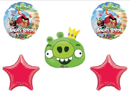 10 year old boy birthday party ideas xpressionportal for Angry birds cake decoration kit