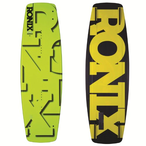 "Ronix 2013 Phoenix Project ""S"" (Cat Scratch Yellow Flake) Wakeboard front-963809"