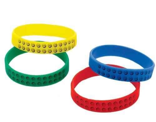41VCOpLpt%2BL Reviews LEGO City Rubber Bracelets Party Accessory