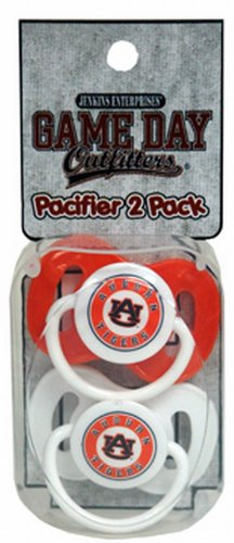 NCAA Auburn Tigers Infant Pacifier at Amazon.com