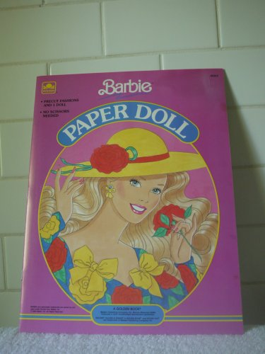 Barbie Paper Doll (1990) - #1523-2 - 1