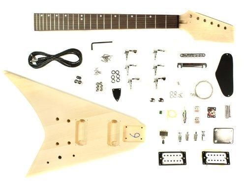 Stellah Flying V Electric Guitar DIY Kit Project