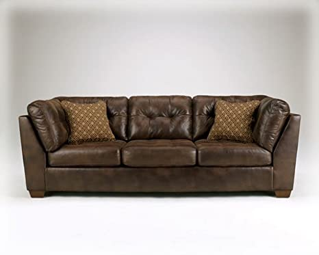 Frontier - Canyon Contemporary Faux Leather Sofa