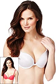 2 Pack Push-Up Plunge A-DD Bras