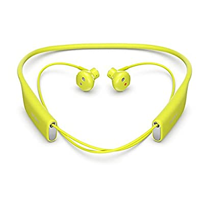 Sony Sbh70 Water Resistant Sports Bluetooth Headset with NFC (Green)