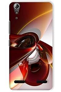 IndiaRangDe Case For Lenovo A6000 Printed Back Cover