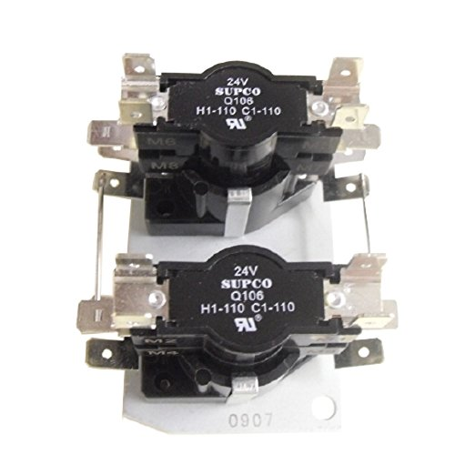 Supco Q106 - Aftermarket Replacement 20 KW Heat Sequencer Relay (Furnace Motor Oil compare prices)