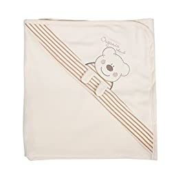 Organic Smile Poby nursery-receiving-blankets Baby Swaddle