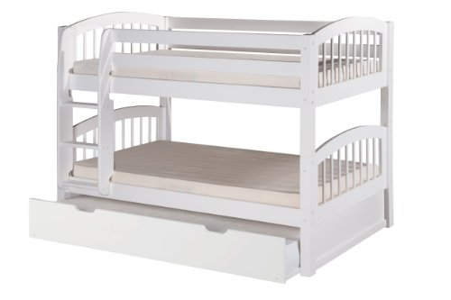 Low Loft Bed With Storage 170888 front
