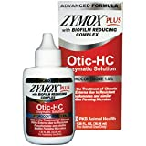 Zymox Plus Otic-HC Enzymatic Solution, 1.25 oz.