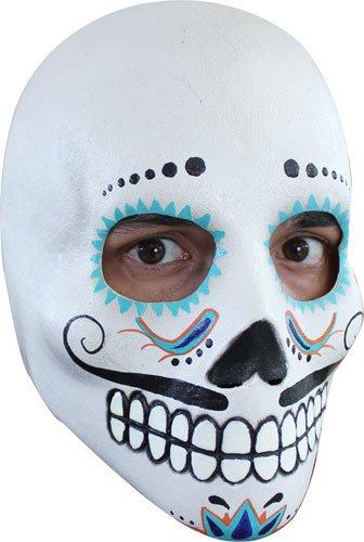 Mens Day Of The Dead Dia De Los Muertos Mask