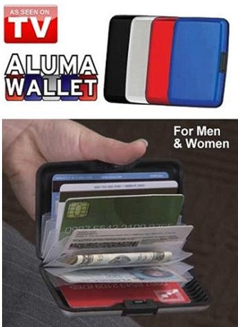 Aluma Wallet Indestructible Aluminum Wallet