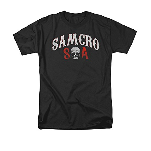 Sons Of Anarchy Tv Series Distressed Samcro Forever Soa Logo Adult T-Shirt