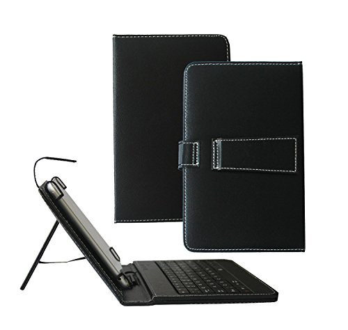 Click to buy Tsmine Samsung Galaxy Tab A 8.0 Tablet Keyboard Case - Quality Micro USB Keyboard W/ Premium PU Leather Case Stand Cover for Samsung Galaxy Tab A 8.0 SM-P350 P355 P357 Tablet, Black - From only $15.89