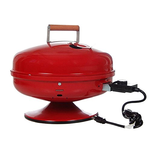 Lock N' Go Portable Electric Grill in Red easy street