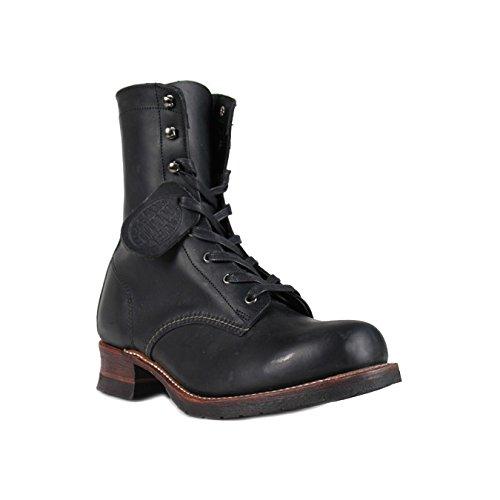 (ウルヴァリン) WOLVERINE 1000マイル レーサー ブーツ [ブラック] W05156 8LACE-TO-TOE BOOT レザー メンズ ウルバリン US8.0(27.0cm) ブラック(並行輸入品)