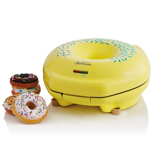 Buy Cheap Sunbeam FPSBDML920 Donut Maker, Yellow
