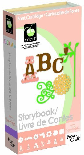 Cricut Cartridge, Storybook
