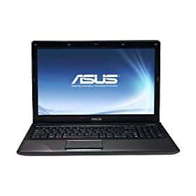 ASUS K52F-B1 15.6-Inch Versatile Entertainment Laptop - Dark Brown