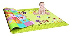 Double Side Baby Mat Carpet Baby Crawl Play Mat Kids Infant Crawling Play Mat Carpet Baby Gym Water resistant (Color and design may vary)(6ft X 4 ft)