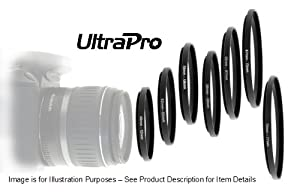 UltraPro Step-Up Adapter Ring 46mm Lens to 62mm Filter Size