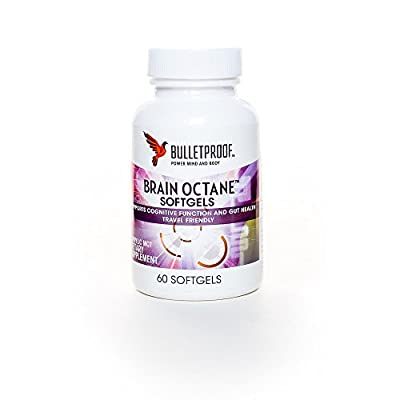 Bulletproof Brain Octane Softgels 60 caps from Bulletproof
