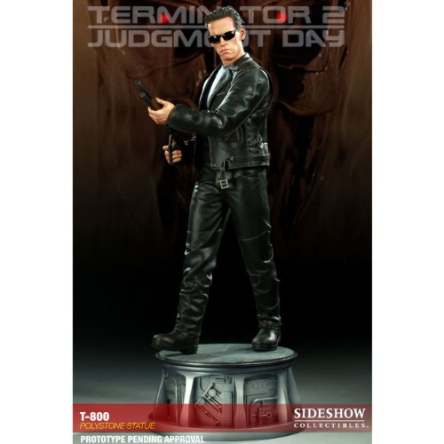 Picture of Sideshow T-800 Terminator 2 Exclusive Polystone Statue by Sideshow Collectibles Figure (B0056IG7JO) (Sideshow Action Figures)