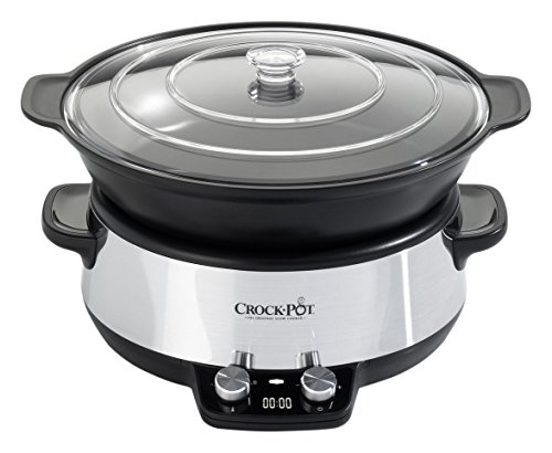 220-230 Volt/ 50Hz, Crock-Pot CSC011X, Slow cooker, OVERSEAS USE ONLY, WILL NOT WORK IN THE US (Crock Pot 220 compare prices)